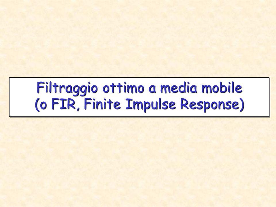 Filtro trapezoidale prefiltro a tre poli reali coincidenti ( ) flatness Una flatness scarsa può creare errori di misura.