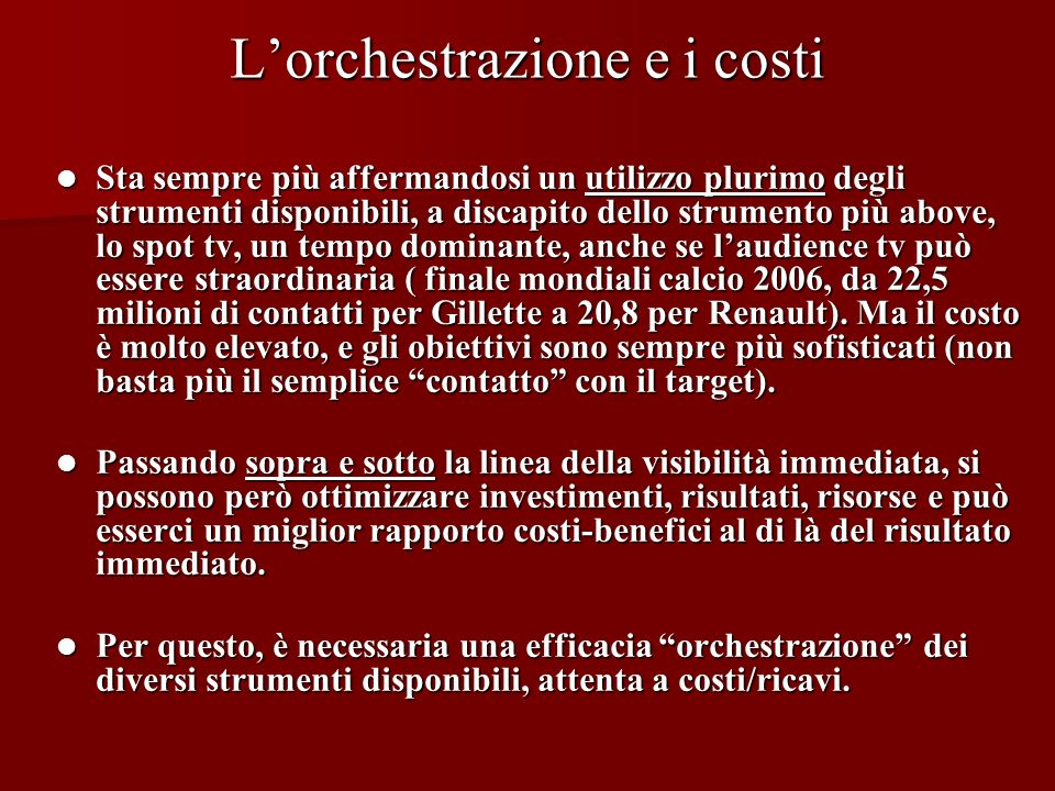 Segue Le 10 fasi del GOREL Segue Le 10 fasi del GOREL FASE DELLINDIVIDUAZIONE E TRASFERIMENTO DEL MESSAGGIO 6.