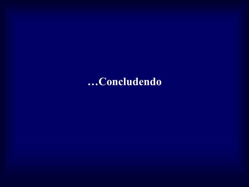 …Concludendo