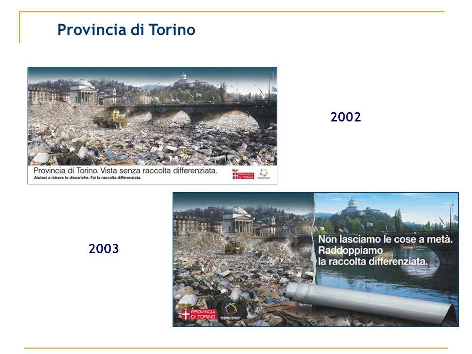 Provincia di Torino 2002 2003