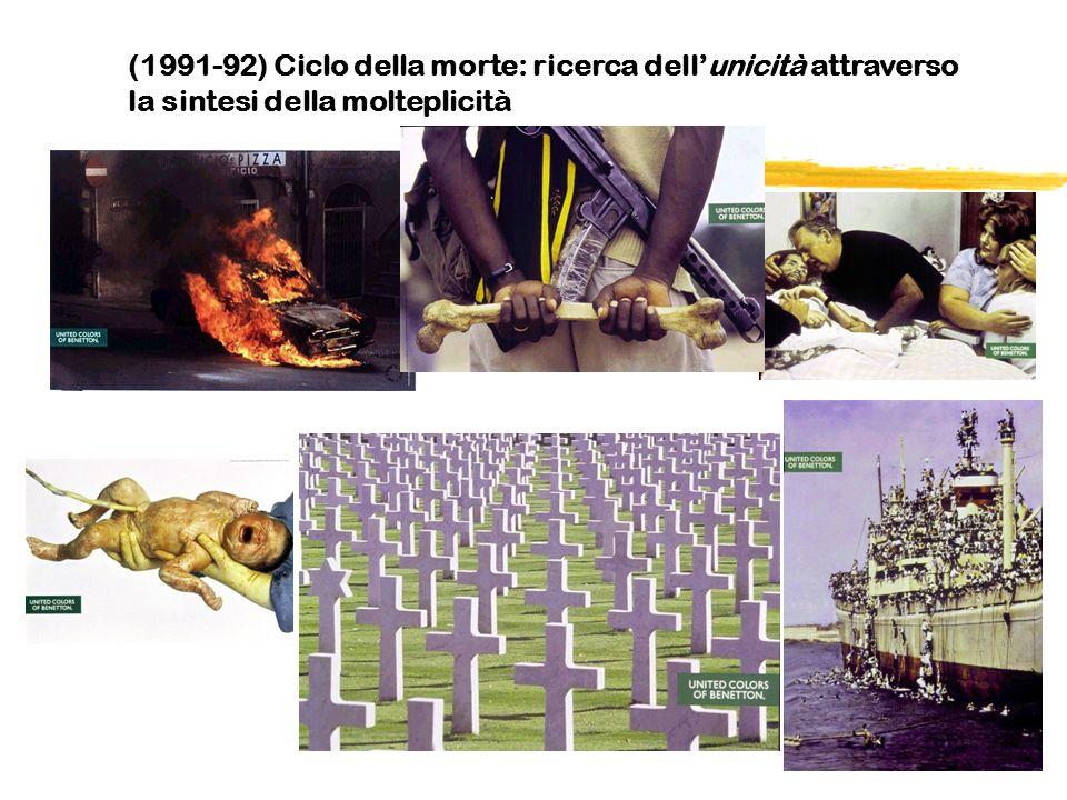 (1991-92) Ciclo della morte: ricerca dellunicità attraverso la sintesi della molteplicità