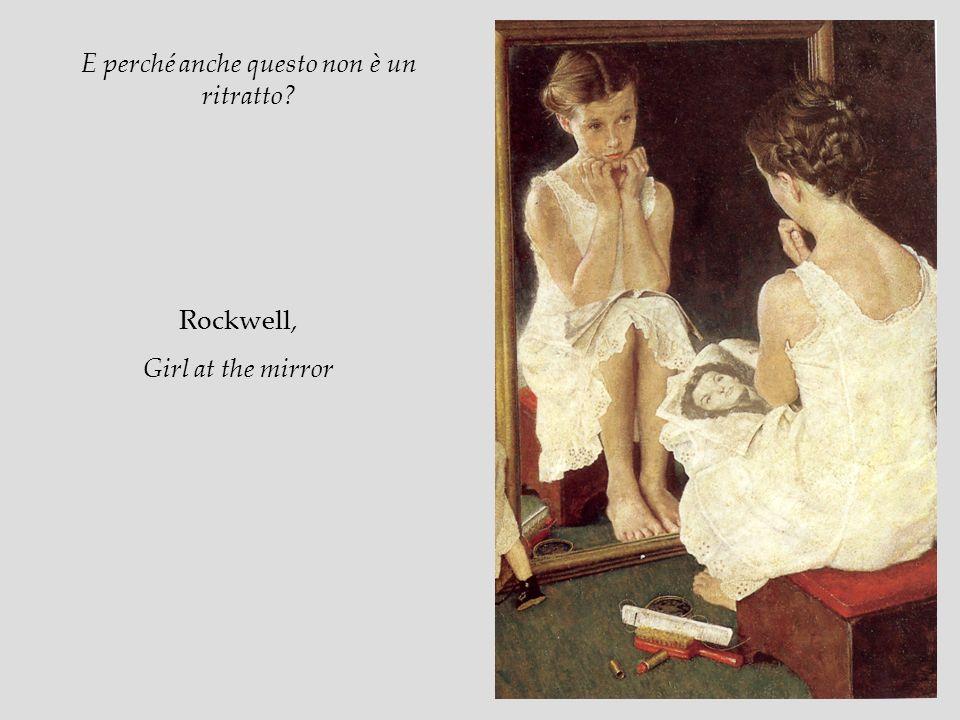 Rockwell, Girl at the mirror E perché anche questo non è un ritratto?