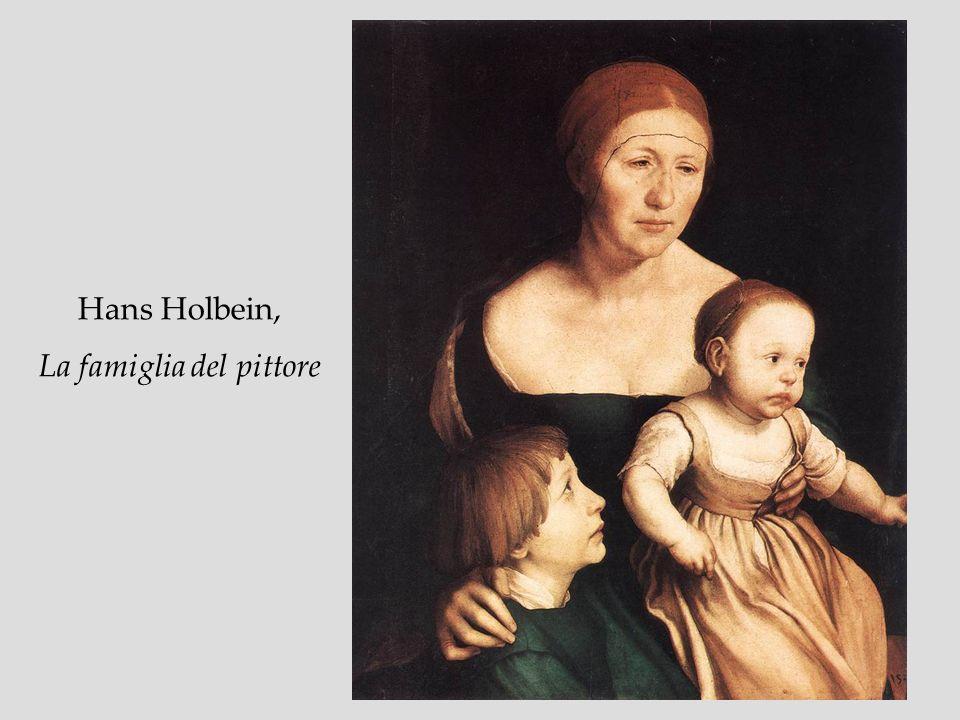 Hans Holbein, La famiglia del pittore