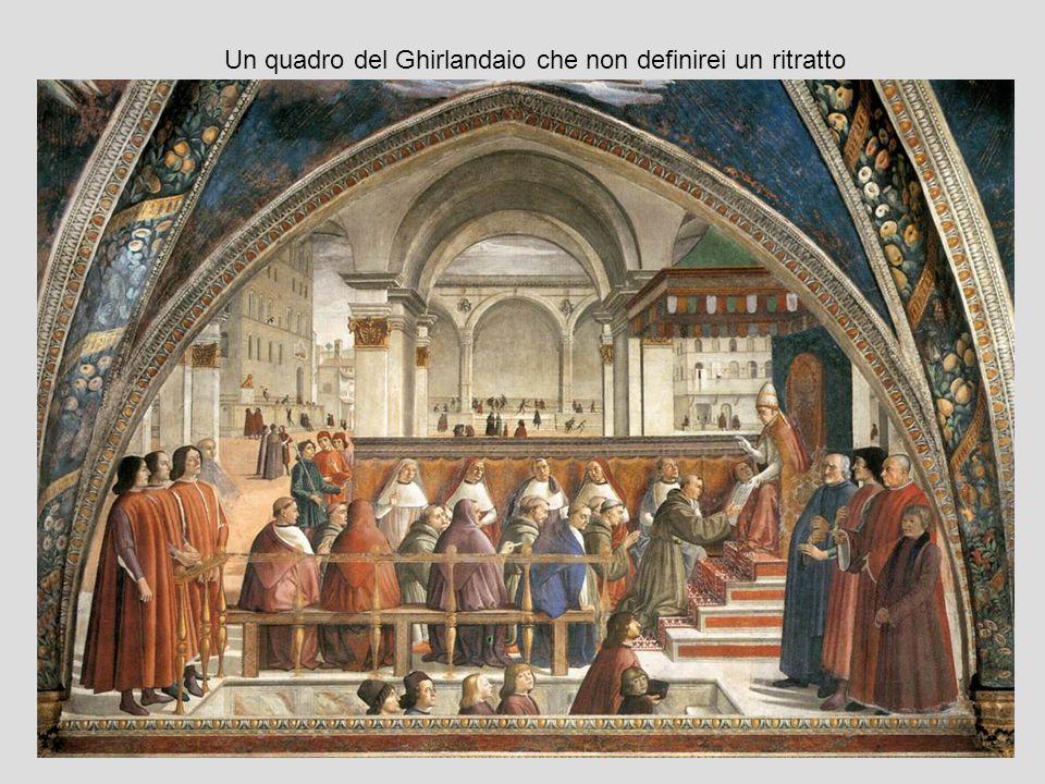 Angelo Poliziano e Giulio de Medici Un possibile spiegazione: sembra essere sufficiente ritagliare il quadro perché venga voglia di parlare di un ritratto?
