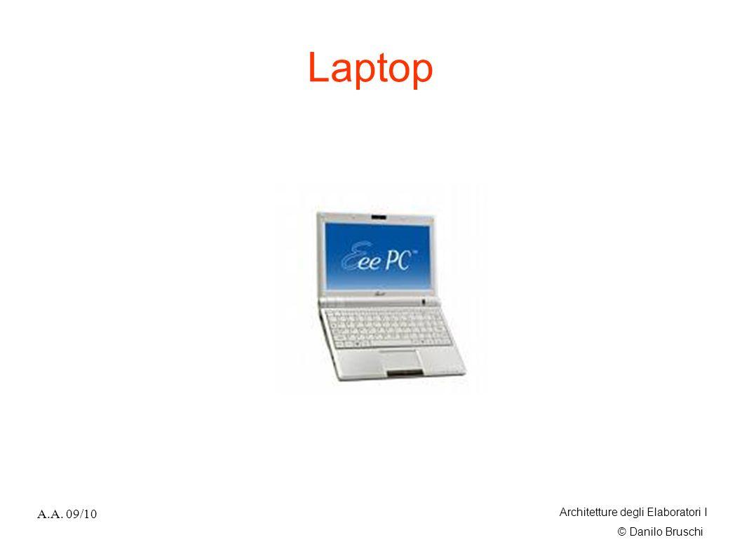 © Danilo Bruschi A.A. 09/10 Architetture degli Elaboratori I Laptop