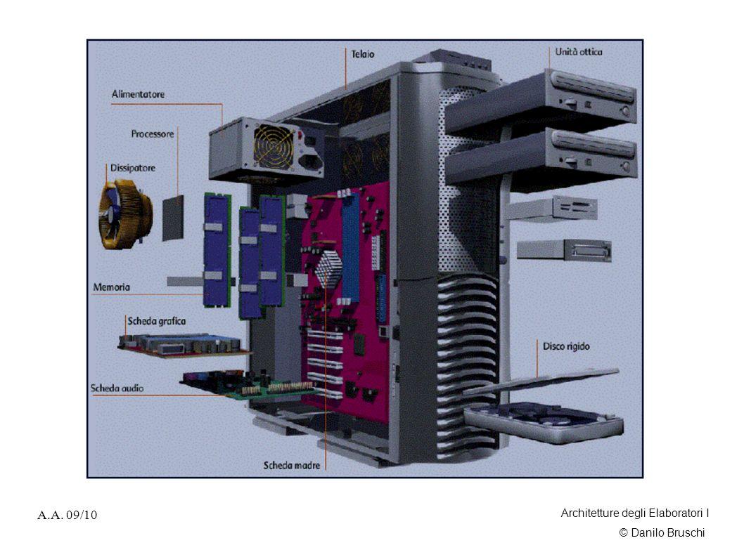 © Danilo Bruschi A.A.09/10 Architetture degli Elaboratori I Informazione vs.