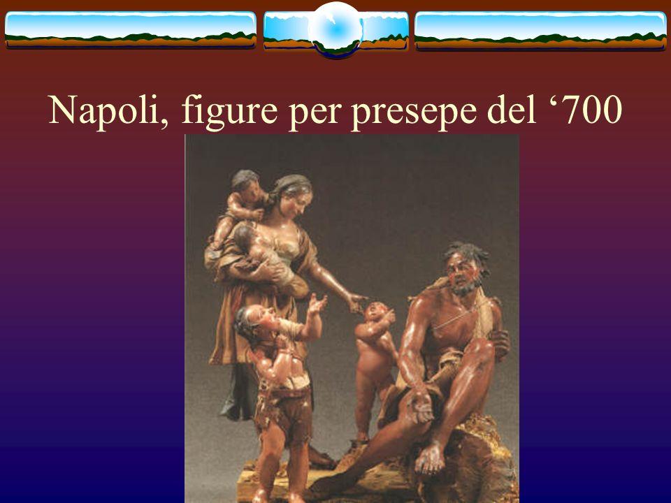 Napoli, figure per presepe del 700