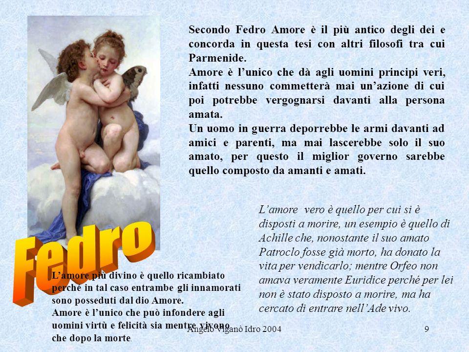Angelo Viganò Idro 200410 Erissimaco è un medico e parla dellamore da medico.