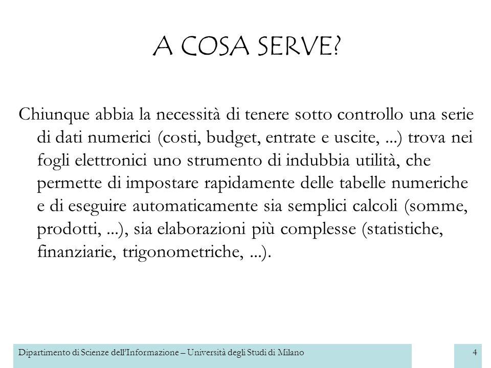 4 A COSA SERVE.