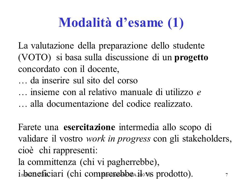 mar 4/3/20081 Introduzione SPA 2007/818 Date: Mon, 03 Mar 2008 06:00:10 +0100 From: Giorgio Valle Subject: URGENTE lezione SPA 4/3 - 6/3 in auletta 5 da annunciare To: pepe@dsi.unimi.it, Luigi Pepe, astrid.bonfanti@dsi.unimi.it, marco.reggio@unimi.it Cc: giorgio.valle@unimi.it, Francesco Epifania, folgieri@dico.unimi.it, foraf, mcc@camisani.com Buondì, potete mettere degli avvisi che il Corso SPA inizia regolarmente domani mattina.