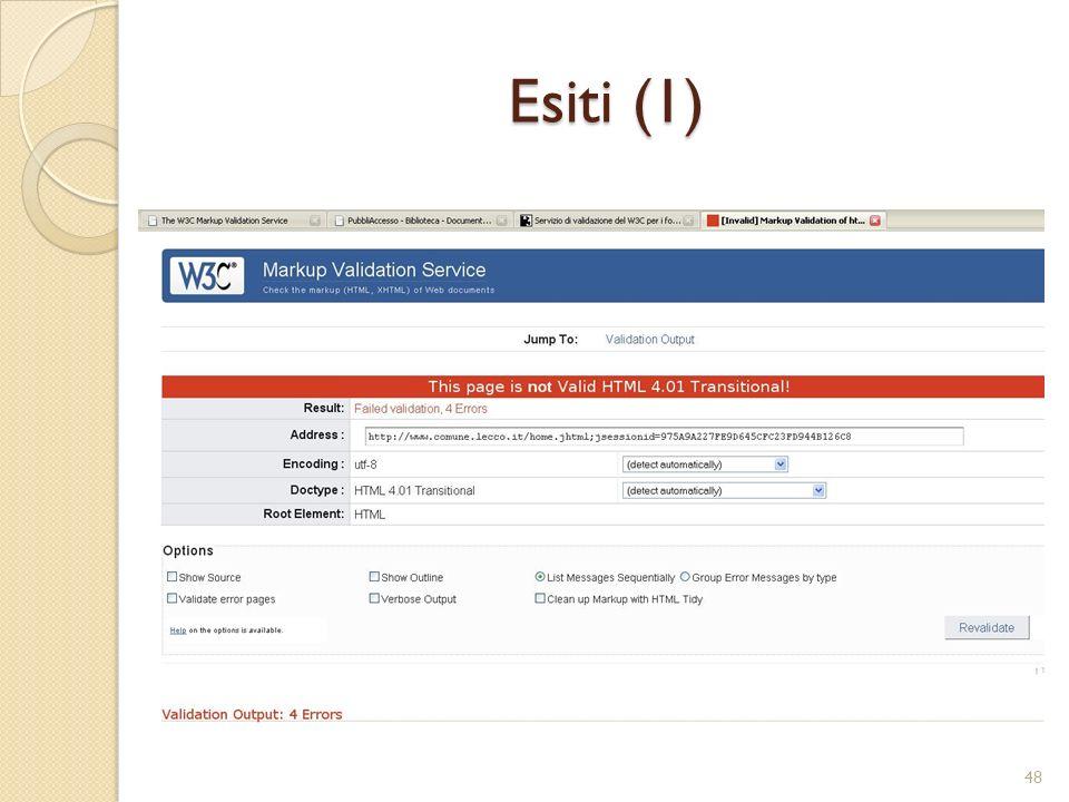 Esiti (1) 48