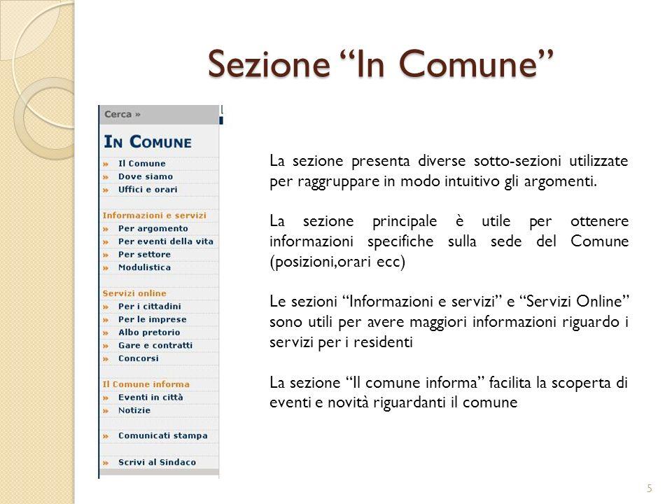 Profilo Utente (1) Il sito del Comune di Lecco verrà visitato da persone appartenenti a diverse categorie di utenza.