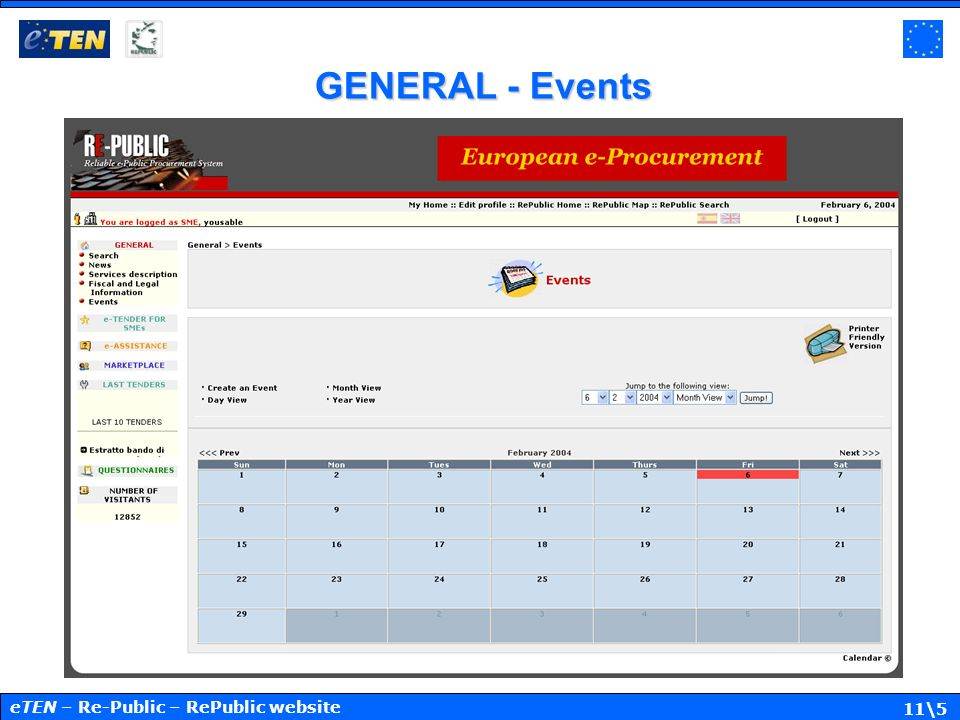 11\5 GENERAL - Events eTEN – Re-Public – RePublic website