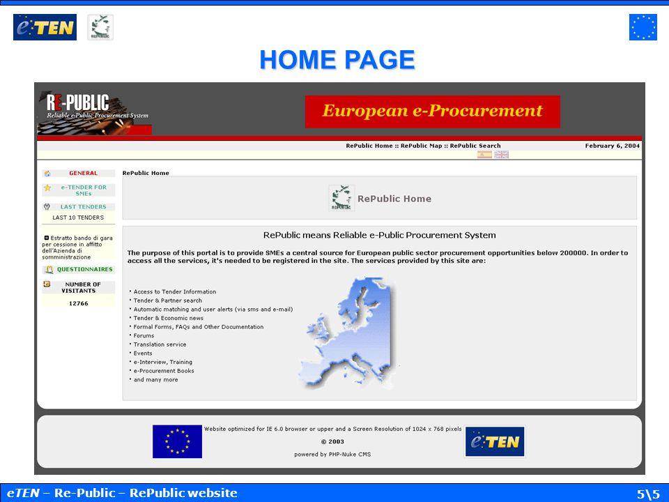 5\5 HOME PAGE eTEN – Re-Public – RePublic website