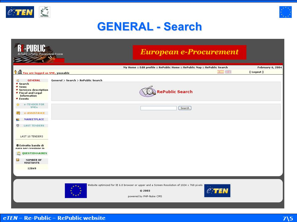 7\5 GENERAL - Search eTEN – Re-Public – RePublic website