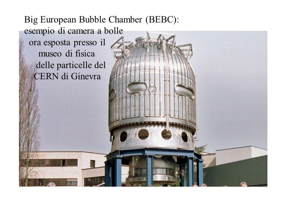Big European Bubble Chamber (BEBC): esempio di camera a bolle ora esposta presso il museo di fisica delle particelle del CERN di Ginevra