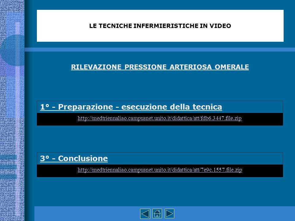 RILEVAZIONE PRESSIONE ARTERIOSA OMERALE 1° - Preparazione - esecuzione della tecnica 3° - Conclusione LE TECNICHE INFERMIERISTICHE IN VIDEO http://med