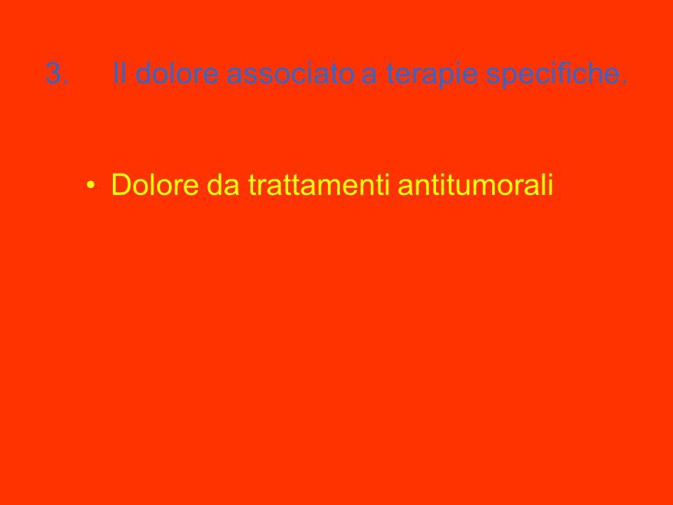 2. Il dolore dato da alterazioni dei meccanismi di trasmissione Dolore da arto fantasma Le cefalee