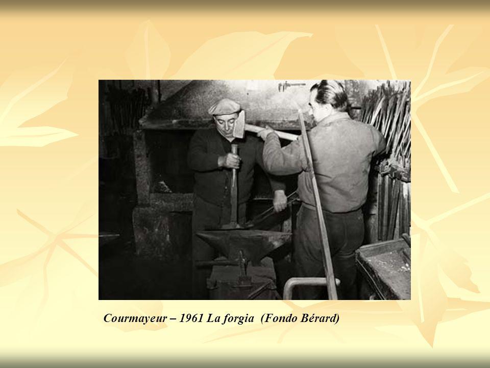 Courmayeur – 1961 La forgia (Fondo Bérard)
