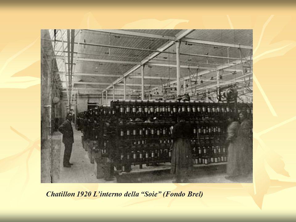 Chatillon 1920 Linterno della Soie (Fondo Brel)