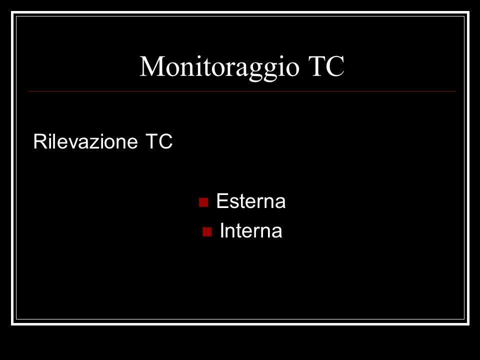 Monitoraggio della TC Rilevazione TC esterna : Termometro elettronico Rilevatore termico cutaneo, permette un monitoraggio continuo tramite un cavo collegato al monitor