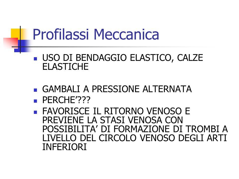 Profilassi Meccanica USO DI BENDAGGIO ELASTICO, CALZE ELASTICHE GAMBALI A PRESSIONE ALTERNATA PERCHE??.
