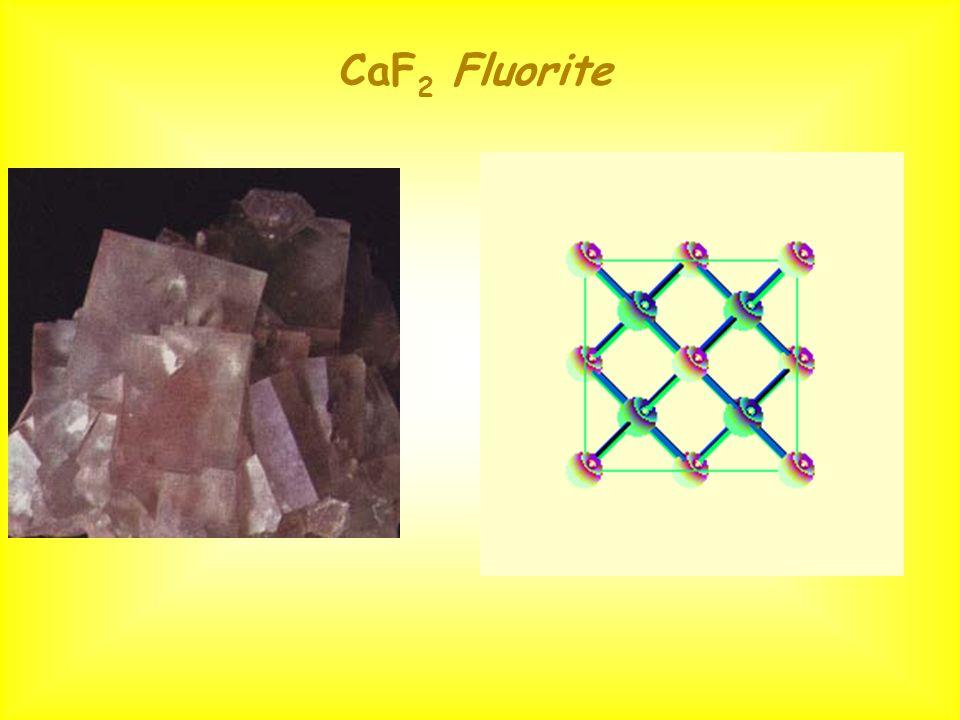 CaF 2 Fluorite