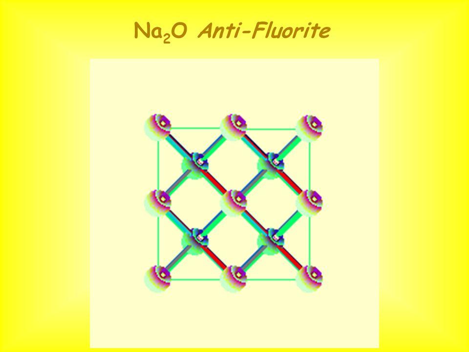 Na 2 O Anti-Fluorite