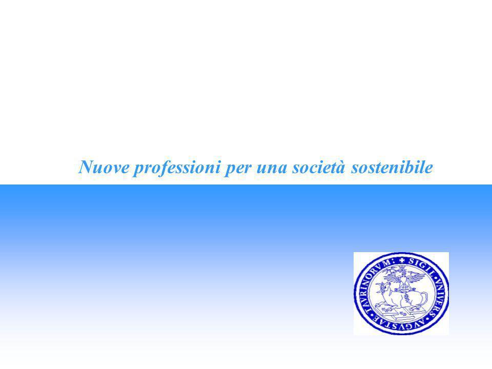 Nuove professioni per una società sostenibile 1