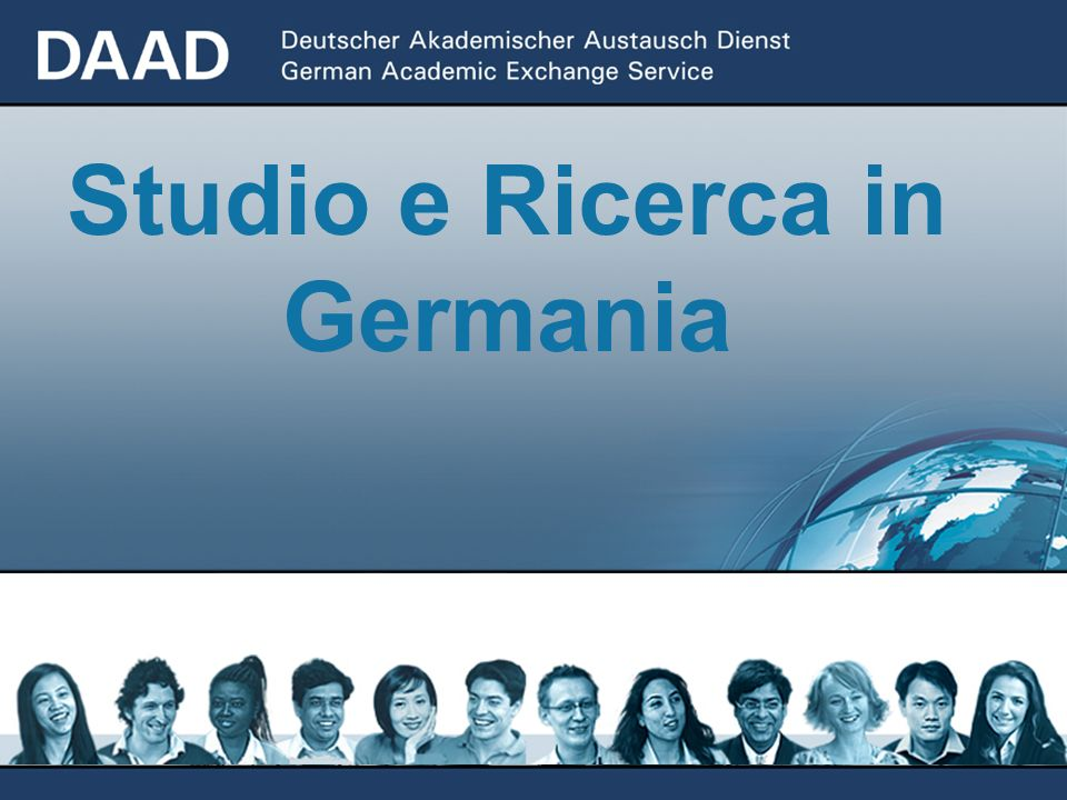 Studio e Ricerca in Germania