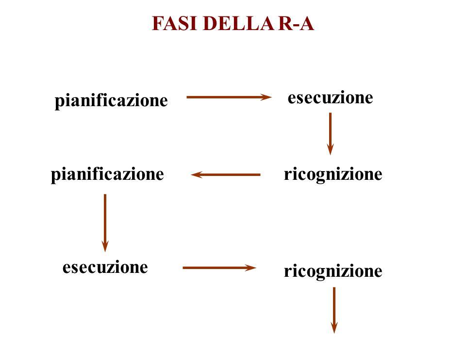 FASI DELLA R-A pianificazione esecuzione ricognizionepianificazione esecuzione ricognizione