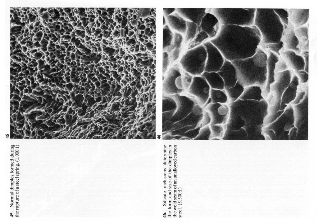 Formazione delle microcricche Inclusioni, impurezze le dislocazioni si impilano allinterfaccia impurezza-matrice