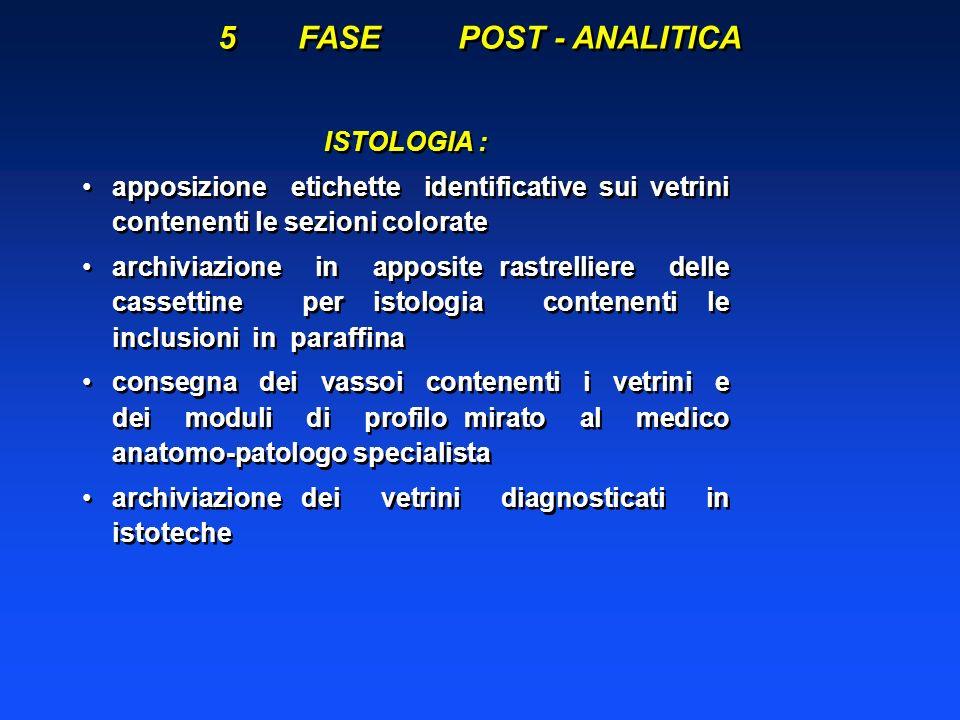 Fissazione dei Tessuti La Formalina: E il più diffuso ed usato fissativo in istopatologia, ad un valore di pH prossimo a 7.0.