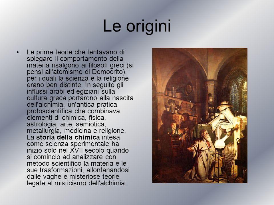 Le origini Le prime teorie che tentavano di spiegare il comportamento della materia risalgono ai filosofi greci (si pensi all'atomismo di Democrito),