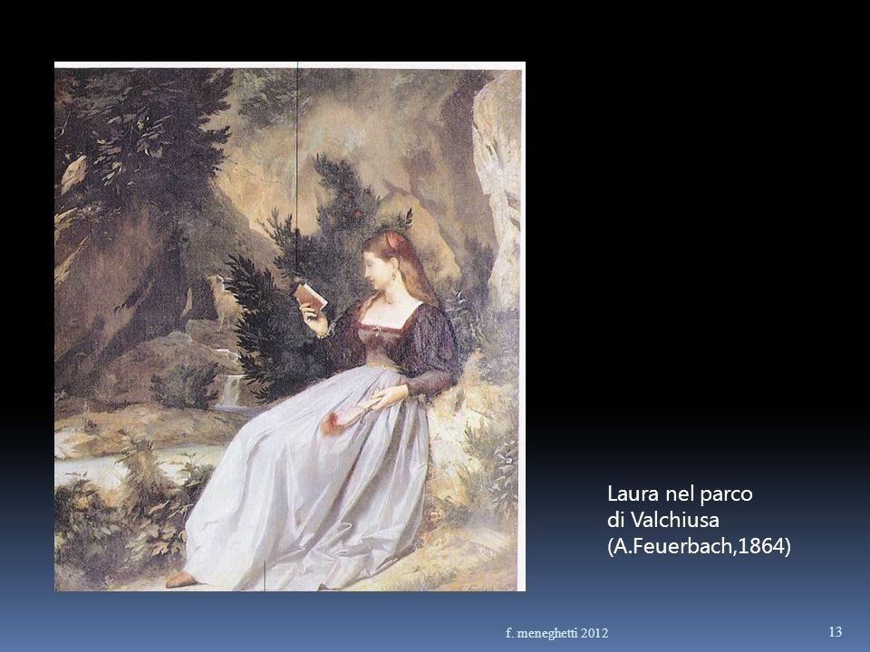 Laura nel parco di Valchiusa (A.Feuerbach,1864) 13 f. meneghetti 2012