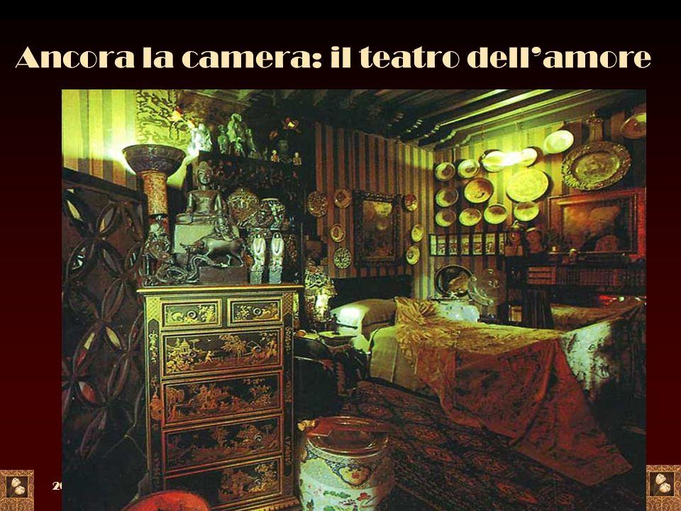 2005a c. di F. Meneghetti18 Ancora la camera: il teatro dellamore