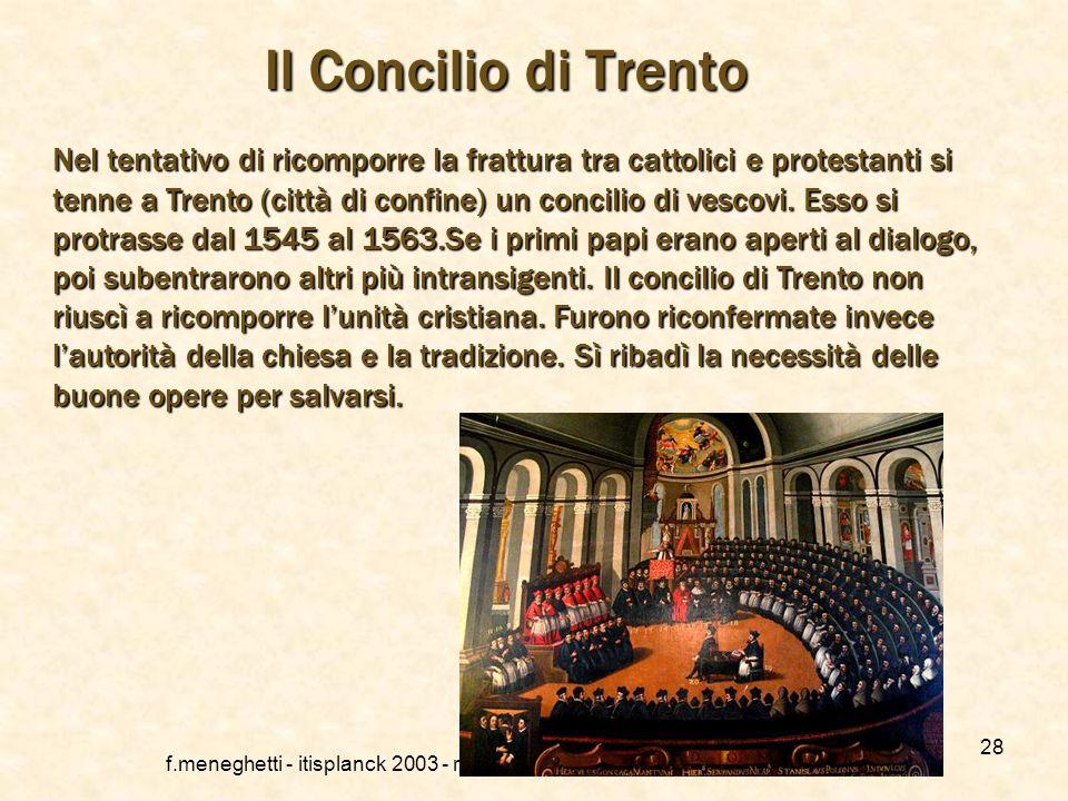 Langlicanesimo f.meneghetti - itisplanck 2003 - rivisto nel 2013 27 Langlicanesimo non può essere considerato un movimento riformatore al pari del lut