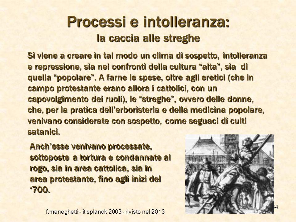La congregazione dellIndice f.meneghetti - itisplanck 2003 - rivisto nel 2013 33 Inoltre viene creato (1558), a cura della Congregazione del SantUffiz