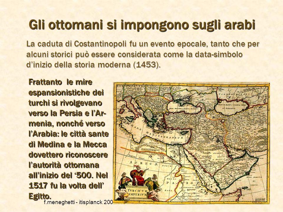 f.meneghetti - itisplanck 2003 - rivisto nel 2013 4 La conquista turca dei Balcani Dapprima i turchi lanciarono lattacco in dire- zione nord-ovest con
