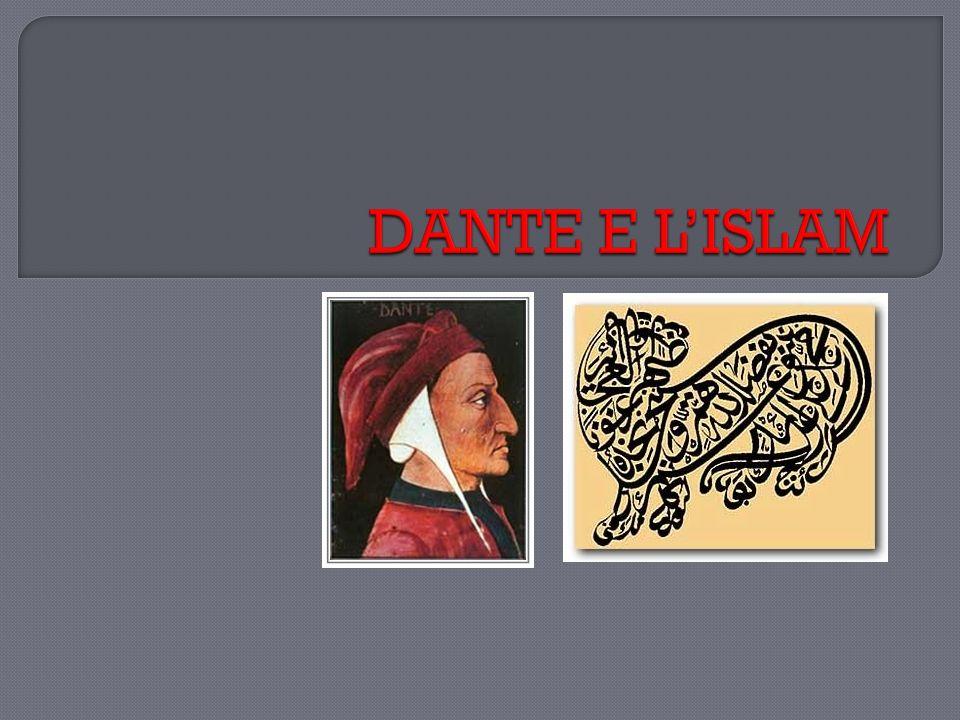 Uno studioso spagnolo, Miguel Asìn Palacios (1871-1944), nel 1919 avanzò lipotesi della derivazione di molte delle strutture dantesche dalla cultura islamica.