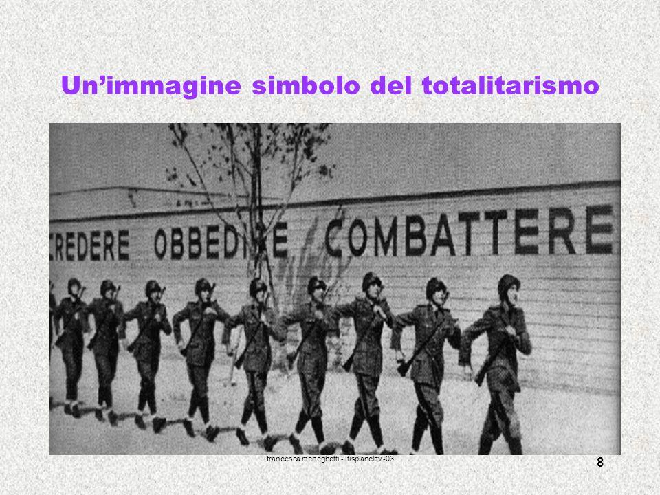 francesca meneghetti - itisplancktv -03 8 Unimmagine simbolo del totalitarismo