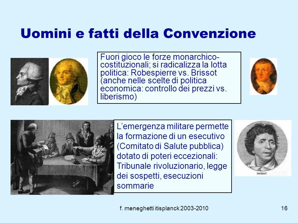 f. meneghetti itisplanck 2003-201015 La fine della monarchia: (21.9.1792) il re è condannato a morte assieme a Maria Antonietta