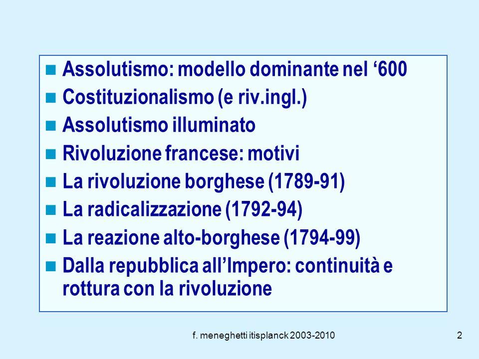 f. meneghetti itisplanck 2003-20101 Modelli ed eventi politici (XVII e XVIII secolo)
