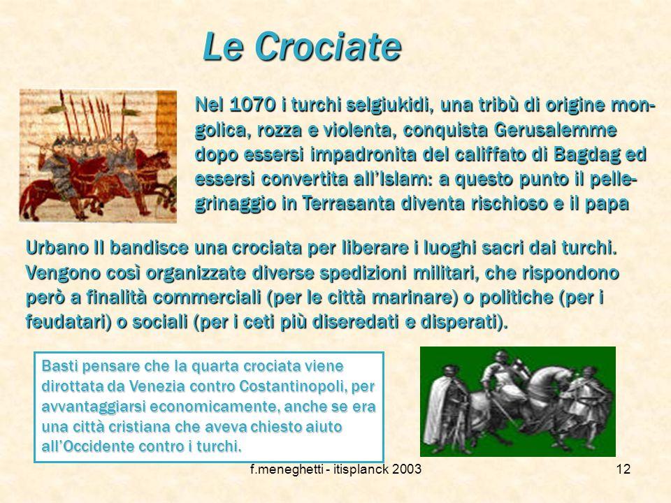 f.meneghetti - itisplanck 200311 …e nell arte Nella chiesa di san Petronio a Bologna compare un affresco degli inizi del '400, che raffigura una scena