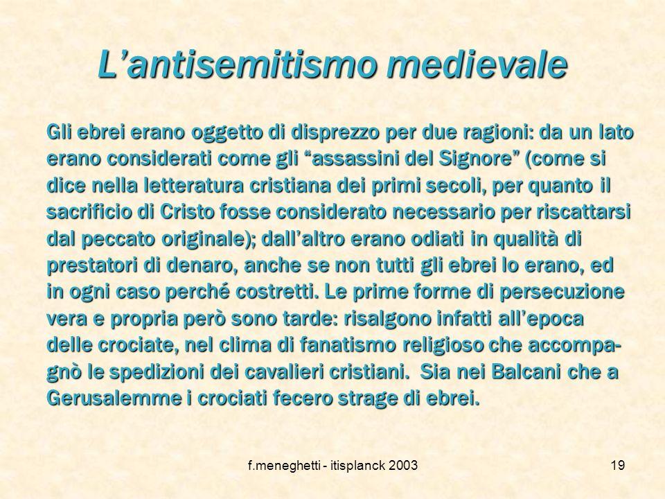 f.meneghetti - itisplanck 200318 l'Ebraismo oggi Attualmente, gli ebrei nel mondo sono circa 13 milioni e sono distribuiti in più di cento paesi. Di q