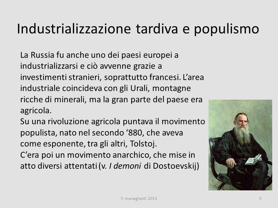 Nascita di primi movimenti marxisti Alcuni populisti in esilio si avvicinarono al marxismo, dando vita nel 1883 a Losanna alla prima organizzazione marxista russa, chiamata Emancipazione del lavoro .