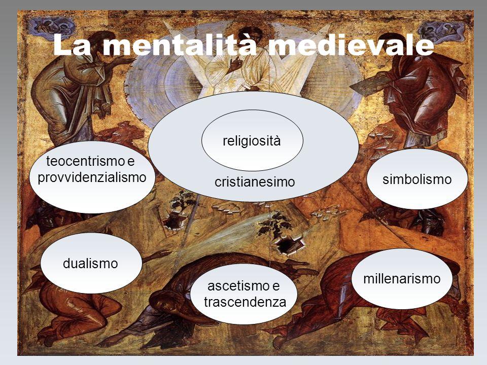 f. meneghetti 20043 La mentalità medievale simbolismo religiosità ascetismo e trascendenza millenarismo dualismo teocentrismo e provvidenzialismo cris