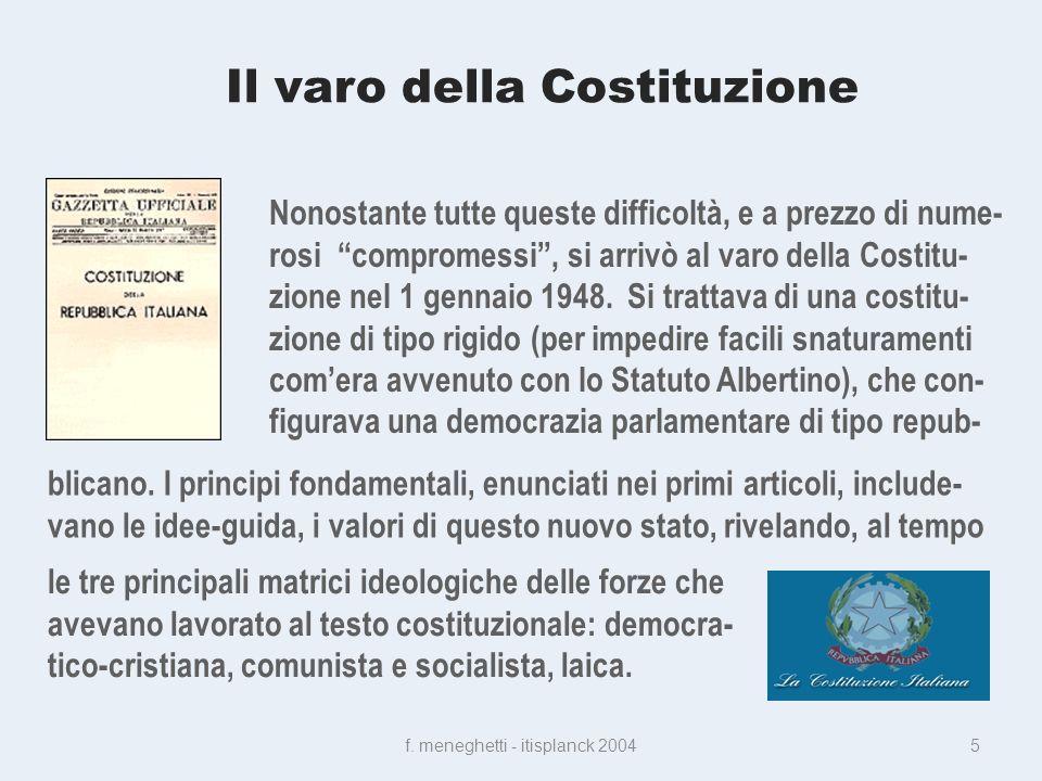 Il varo della Costituzione f.