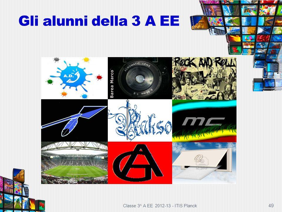 Gli alunni della 3 A EE Classe 3^ A EE 2012-13 - ITIS Planck 49