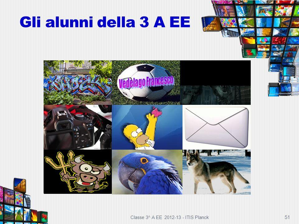 Gli alunni della 3 A EE Classe 3^ A EE 2012-13 - ITIS Planck 51